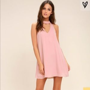 Groove thing swing dress pink NWT M